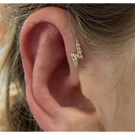 Piercing Eclair OR 18 Carats - 5