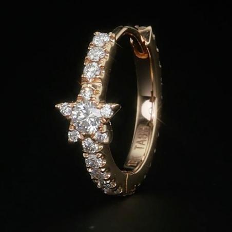 Piercing Maria Tash - Diamant star - 7