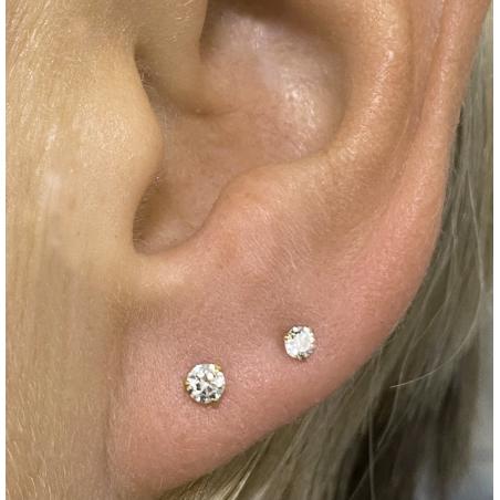 ©Le Pop Diamant 0,10 Carats  Popart Piercing 12