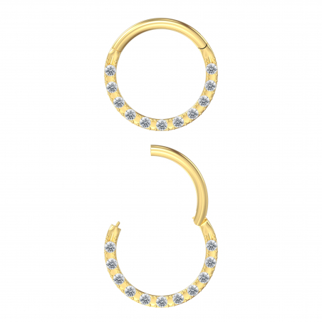 ©The Ring Daith Round Popart Piercing 6