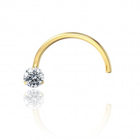 Diamond Nose Piercing Popart Piercing 0,03K