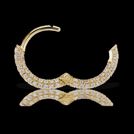 Piercing Maria Tash - Anneau Pavé (8mm) - 3