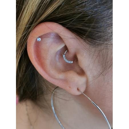 Piercing anneau daith et helix - 3