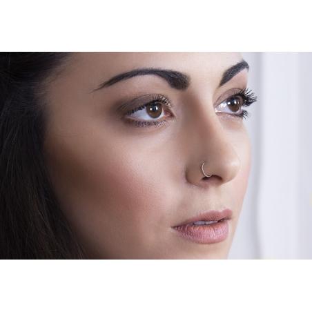 Piercing nez en Or torsadé - 3