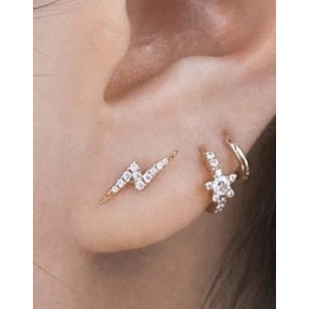 Maria Tash Piercing Éclair dix diamants - 8